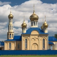 Свято-Успенский храм станицы Удобной :: Евгений Воропинов