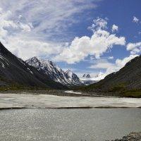 Горный Алтай. Вид на Софийский ледник :: Солоненко Лидия
