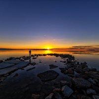 Закат на Солёном Озере :: Iosif Magomedov