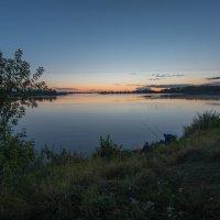 Рыбалка на закате. :: Виктор Евстратов