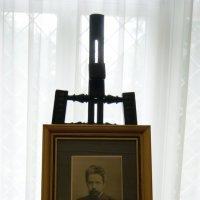 Мольберт с портретом Н.А. Ярошенко :: Евгений БРИГ и невич