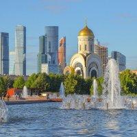Фонтан в парке Победы в Москве :: Александра Климина