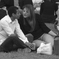 Чёрно-белые отношения. :: Борис Бутцев