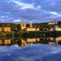 закат на берегу реки Клязьма :: Георгий А