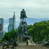 Памятник Джорджу.Вашингтону в Филадельфии :: Юрий Поляков