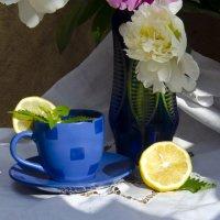 Чай  с лимоном и мелиссой :: Татьяна Евдокимова