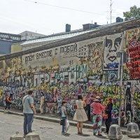 Стена Цоя на Арбате :: Алексей Виноградов