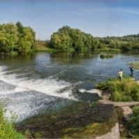 Плотина в городе Зарайске на реке Осётр :: Виталий Белов
