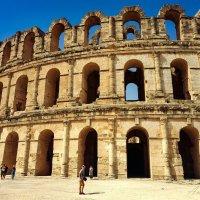 Амфитеатр в Эль-Джеме. Тунис. :: Андрей Козов
