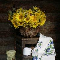 Солнечное настроение в деревенском доме :: Ольга Касьянова