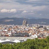 Панорамный вид города Барселона :: Елена Елена