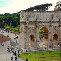 Триумфальная арка Константина :: Сергей Карачин