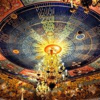 Потолок в трапезной :: Анатолий Колосов
