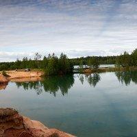 Красота песчаных крьеров 3 :: Юрий Бутусов