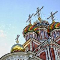 Купола (Рождественская церковь в Нижнем Новгороде) :: Александра