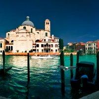 Венеция. Вид на церковь Сан-Джеремия :: Любовь Гайшина