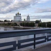 Ольгинский мост,р. Великая :: Ольга Лиманская