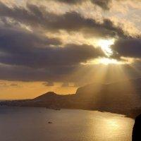 Закат над Фуншалом, Мадейра. :: Анастасия Богатова