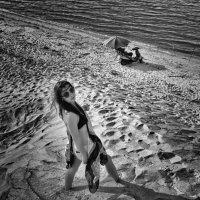 Следы на песке… :: Volodymyr Shapoval VIS t