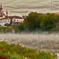 По реке туман крадётся ... ) ... Smoke on the water ... ) :: Елена Хайдукова  ( Elena Fly )