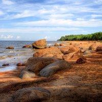 Гранитный берег ..август :: Cергей Щагин