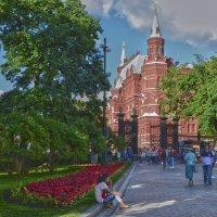 Вид на Исторический музей из Александровского парка :: Александра