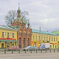 Часовня «Проща» Спасо-Андроникова монастыря. :: ИРЭН@ .