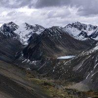 Небесное озеро и ледник снежного барса :: Ксения Григорьева