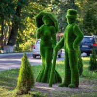 Зеленые человечки. :: Анатолий Сидоренков
