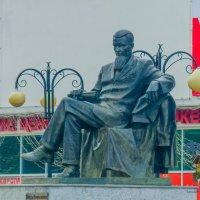 памятник Игорю Васильевичу Курчатову. город Курчатов. :: Руслан Васьков
