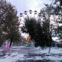 Первый снег...Все ушли до лета...тишина,морозно... :: Хлопонин Андрей Хлопонин Андрей