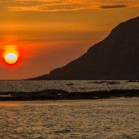 Полночное солнце :: Сергей Дабаев