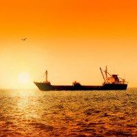 закат над мраморным морем :: KanSky - Карен Чахалян
