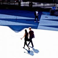 по площади Стокгольма :: Елена