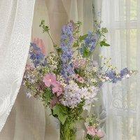 Июльские цветы. :: Александр Смирнов