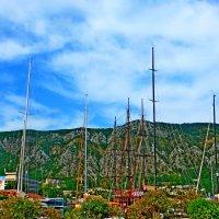 Небо, горы, яхты :: Raduzka (Надежда Веркина)