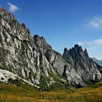 неприветливые, негостеприимные горы :: Elena Wymann