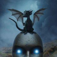 Магическая маска с Дракончиком! :: Светлана Пивоварова