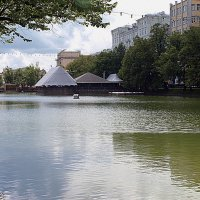 Москва.Чистые пруды. :: Владимир Драгунский