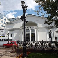 Москва Чистопрудный бульвар. :: Владимир Драгунский