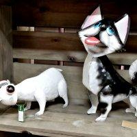 Для любителей собак и кошек... :: Тамара Бедай