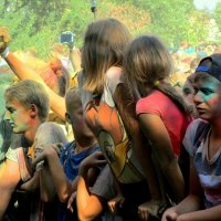 Фестиваль красок Холли :: Сергей Карачин
