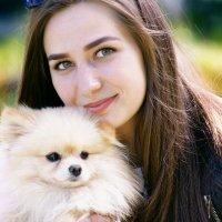 Дама с собачкой.... :: Николай Меньщиков