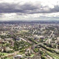 Панорамный вид на Москву :: Елена Елена