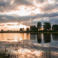 Закат на Зелёном озере... :: Владимир Васильев