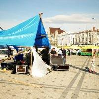 Синий шатер... :: Андрей Головкин