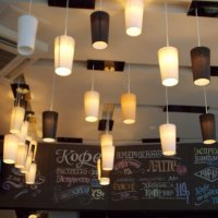 Вечерние огни в кафе :: Galina Solovova