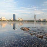 Красноярск, утро :: Дмитрий Брошко