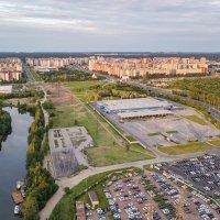 Вид с воздуха на Красногврадейский район :: Дмитрий Балагуров