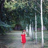 Девочка и лес :: Александра Уварова